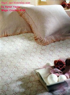 Hooked on crochet: Colcha branca 2