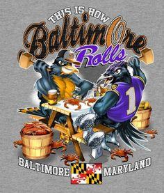Baltimore: Ravens, Orioles & Steamed Crabs!