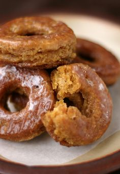 Pumpkin Donuts | 10 Awesome Pumpkin Dessert Recipes