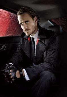 Michael Fassbender - in love with him since he played Bobby Sands in Hunger. Then he killed it as Magneto, and now he's going to be in Prometheus. He's German AND Irish and studly and talented. How much more could I want in a man (besides mutual lust :D)?