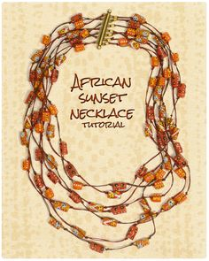 African crafts on pinterest african crafts kids for How to make african jewelry crafts