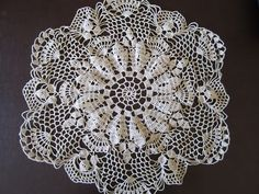 Lacy Crochet: My Shortcut to Blocking Doilies