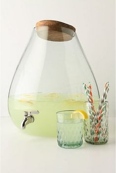 Bubbled Beverage Dispenser, $298.00 at Anthropologie