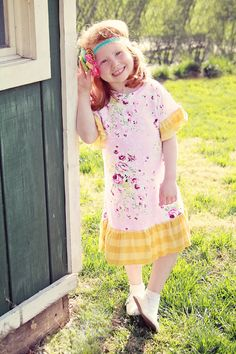 Whimsy Couture Sewing Pattern/Tutorial Knit Tee by whimsycouture, $9.00
