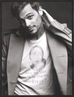 Matthew Gray Gubler ....... I know right!?
