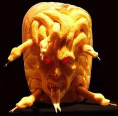 Medusa Pumpkin Carving