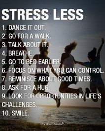 I think I am going to do a 10 day challenge. I am going to challenge myself to do at least one of these every day for the next 10 days, when I stress out (which is at least once a day)