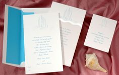 Sand Castle Wedding Invitations