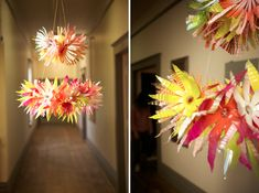 chandelier from water bottles