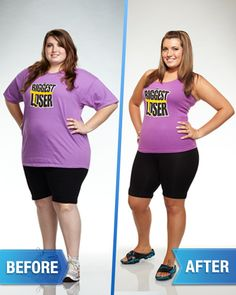 Biggest Loser Before and After Photos!//Megan Stone c