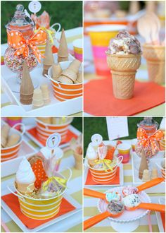 Host an Ice Cream Social Party! + FREE PRINTABLES