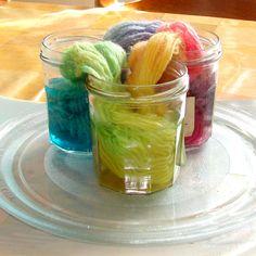 yarn dye, waldorf doll, tutorials, crochet secret, yarns, microwav oven, knit, dye yarn, dyes