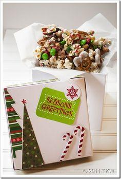 Holiday Popcorn treats