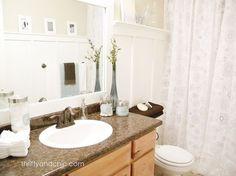 $60 Bright Bathroom Makeover :: Hometalk