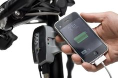 charge your iphone with your bike