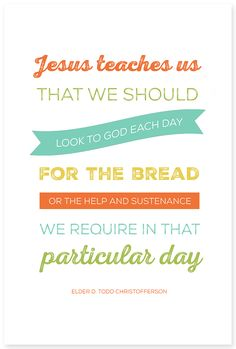 October 2014 Visiting Teaching Message - simple as that