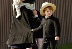 skirt, amish boy, amish famili, amish kid, amish life
