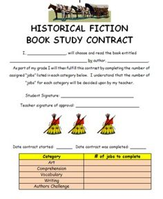 historical fiction book report Historical fiction book report due tuesday, november 27th, 2007 part i – bookmark (10 points) the bookmark should include: title, author, illustrator, names of the.