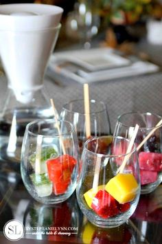 Flavored Ice Cubes ~ Infused Water Recipes (neat!)