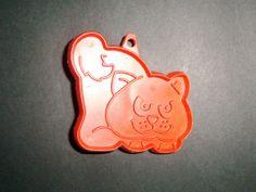 Vintage Hallmark Halloween Orange Cat Cookie Cutter