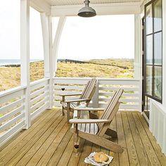 adirondacks. #chairs, #porches, #homedecor, #decorating