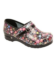 Take a look at this Black Koi Pond Original Professional Clog - Women by Sanita on #zulily today!