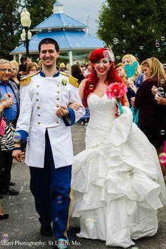 Beautiful, creative, detailed Disney Princess wedding