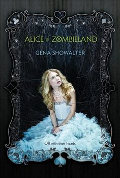 Alice in Zombieland by Gena Showalter: This book is EVERYTHING!! It is probably the coolest book I have read in a long time and I just can't get enough of it.  Ali is a fantastic, snarky, zombie-butt-kicking character and Cole is a bad boy who needs a hug and a punch to the face.  The author truly created a new lore for zombies (as spirits, not just dead bodies) that is fascinating and creative.  Check it out!