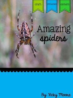 Spider Pack { Math, ELA, and art }