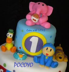 Pocoyo and Friends :) by Cakes with L.O.V.E., via Flickr