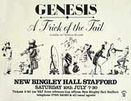 GENESIS - A TRICK OF THE TAIL, 1976