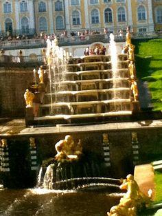 Peterhof Fountains 1