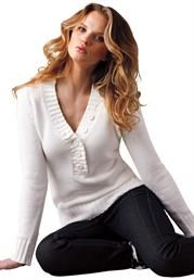 Plus Size Cotton cardigan sweater from Ellos
