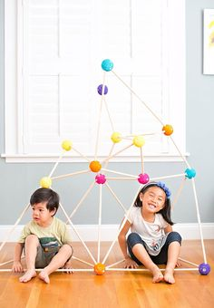 HOW TO MAKE A STICK FORT KIT