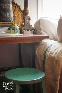 It's all in the details....Oliver and Rust: vignettes