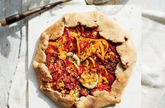 Heirloom Tomato Crostata With Buttermilk-Whole-Wheat Crust | Market tomatoes keep best at room temperature. Store them stem-side up in a paper bag for up to three days.