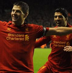 Luis Suarez has revealed he spent previous Christmas Days pretending to be Steven Gerrard on his games console – and how he's overjoyed to now be playing in the same team as a man he describes as his 'hero'.