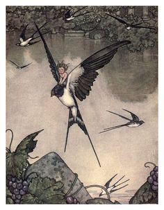 Illustration by William Heath Robinson.