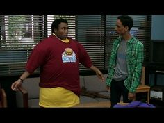 "Troy and Abed set a T-shirt record. ""Breathe in!"""