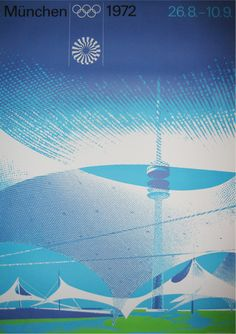 Otl Aichl, Designs for the Munich Olympics 1972