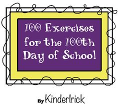 "FREE MATH LESSON - ""100 Fun Exercises for the 100th Day of School"" - Go to The Best of Teacher Entrepreneurs for this and hundreds of free lessons.  #FreeLesson   #TeachersPayTeachers   #TPT   #Math   http://www.thebestofteacherentrepreneurs.net/2014/01/free-math-lesson-100-fun-exercises-for.html"