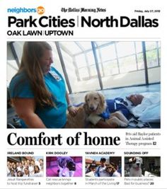 07/27 Pets and Their People: Meet Eli, the face of Baylor's Animal Assisted Therapy program.