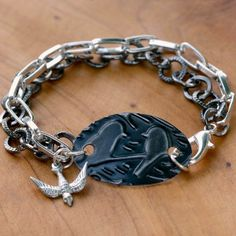 If you have always wanted to learn how to emboss, then this Enchanting Embossed Metal Charm Bracelet is a great project to start with. This DIY jewelry tutorial has easy-to-follow instructions on how to make a bracelet and emboss a metal charm for it.
