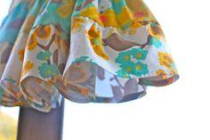 Flouncy toddler skirt tutorial