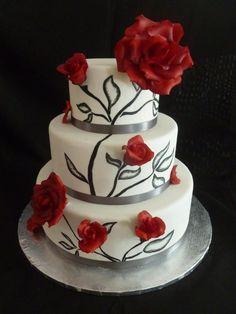 @Kathleen DeCosmo ♡♡ #Cakes ♡♡   Cake Decorating: Wedding Cake