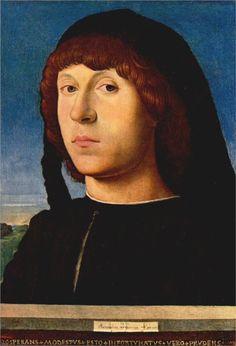 Antonello da Messina, Portrait of a Young Man, 1478