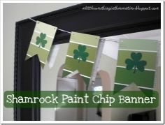 shamrock paint chip banner!