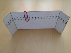 Foldable: Number Line for Interactive Math Journal  Template on teachers pay teachers