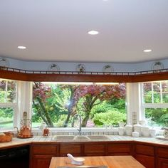 Bay Window Kitchen Design, Pictures, Remodel, Decor and Ideas