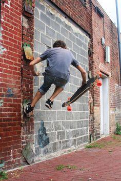 longboard#wall
